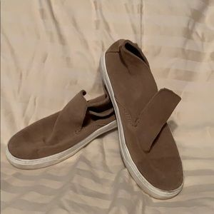 Leather tan DV cute shoes size 8